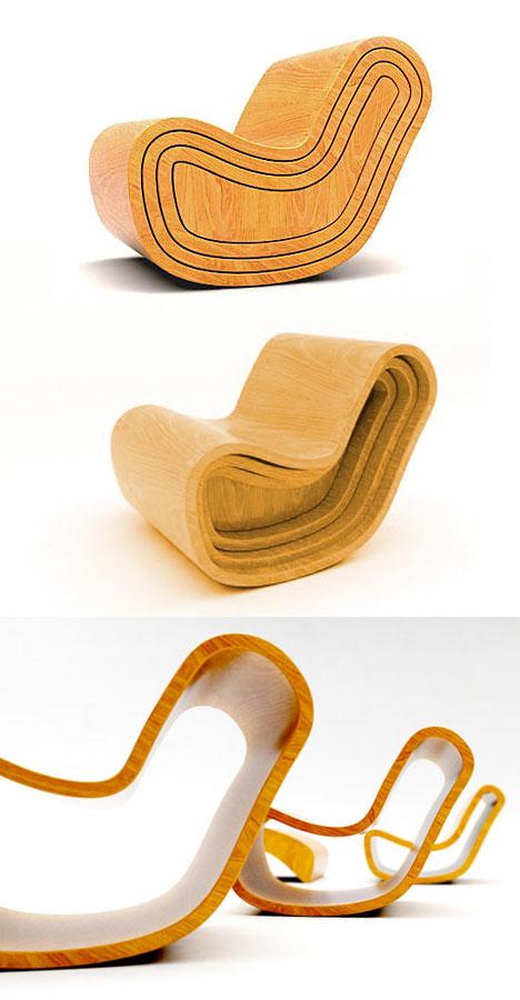 Veel stoelen allemaal uit dezelfde stoel