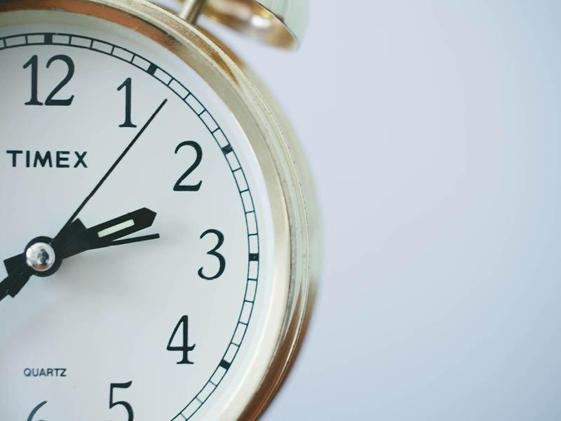 8 Timemanagement regels