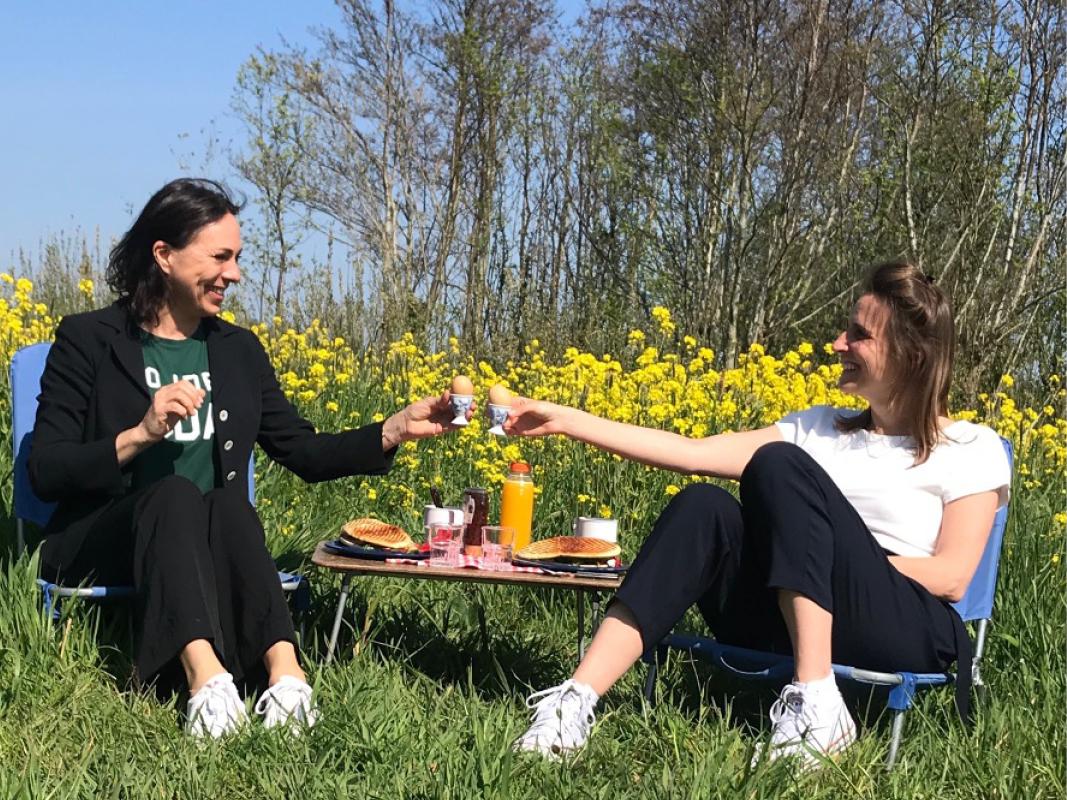 Machteld Rijnten & Marieke Kamphuis - Duurzame Woonbeurs & The Substitute