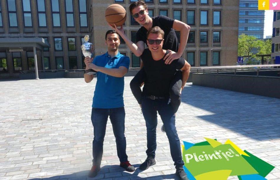 Studentondernemers Teun, Mick en Maarten - 'Pleintje'